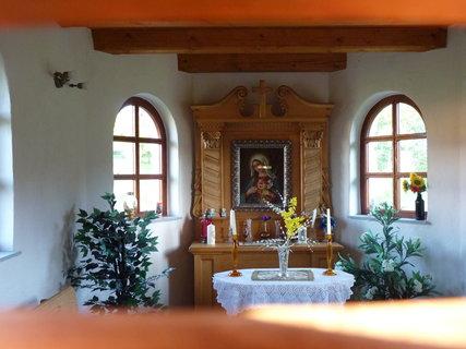 FOTKA - Kaplička - vnitřní výzdoba