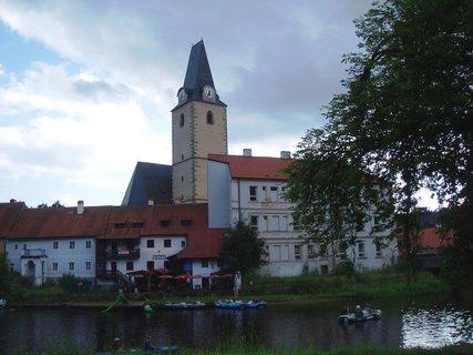 FOTKA - Rožmberk n.Vlt. - kostel