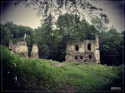 FOTKA - zřícenina hradu VIKŠTEJN-