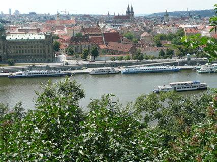 FOTKA - Praha - výhled na Vltavu.