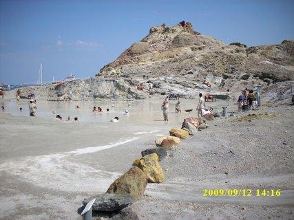 FOTKA - Ostrov Vulkáno - bahenní lázně Sicílie 2009
