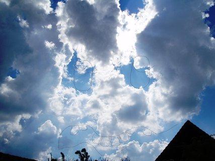 FOTKA - děsivý mrak