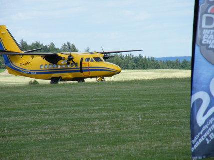 FOTKA - Žluté letadlo