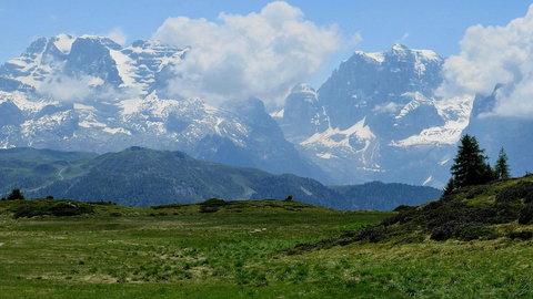 FOTKA - Vyhlídka v Dolomitech