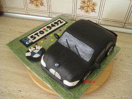 FOTKA - auto BMW-černé