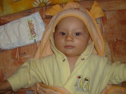 FOTKA - Synovec - po koupeli