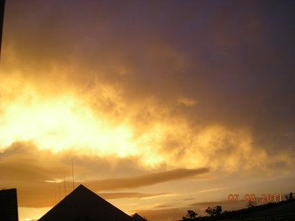 FOTKA - nedělní obloha