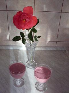 FOTKA - Jahodová pěna s růží