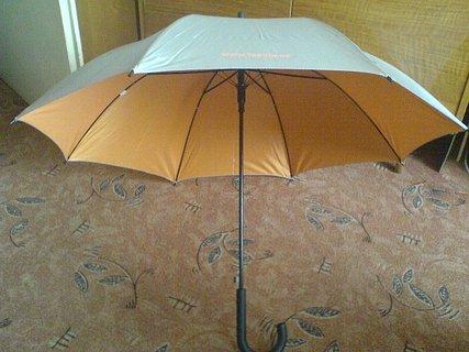 FOTKA - Deštník za fazolky