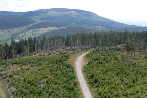 FOTKA - Pohled z Hnědého vrchu na Černou horu