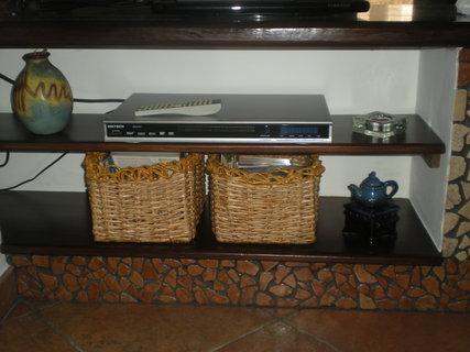 FOTKA - moje pletení - v obýváku na DVD
