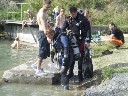 FOTKA - potápěč....