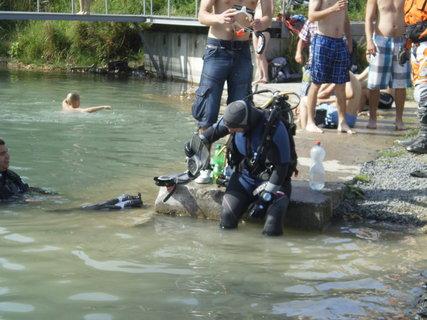 FOTKA - příprava na ponor