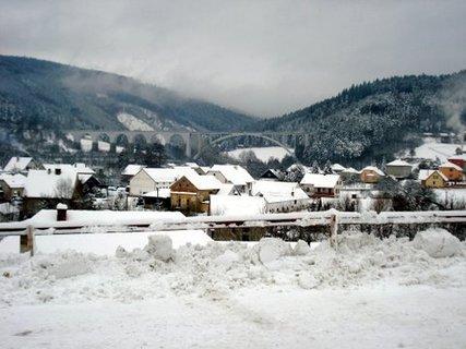 FOTKA - Dolní Loučky v zimě