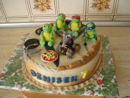 FOTKA - želvy Ninja+Tříska