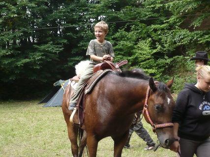 FOTKA - Ondra na koníkovi