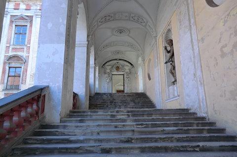 FOTKA - Roudnický zámek - schody ke kapli