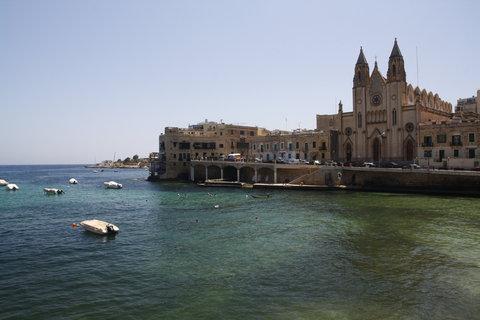 FOTKA - ze synova pobytu na Maltě 2