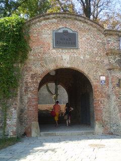 FOTKA - vstupní brána Špilberku