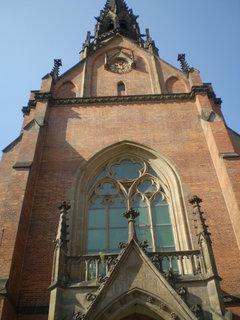 FOTKA - červený kostel v Brně