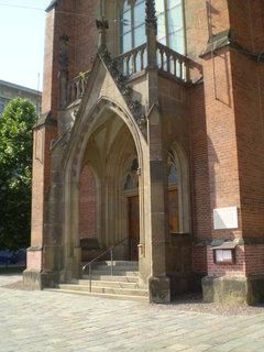 FOTKA - červený kostel Brno