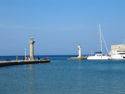 FOTKA - Rhodos-  přístav
