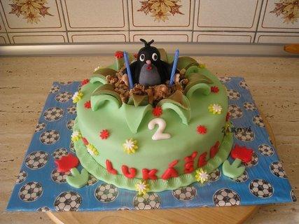 FOTKA - krteček+roztřepený dort