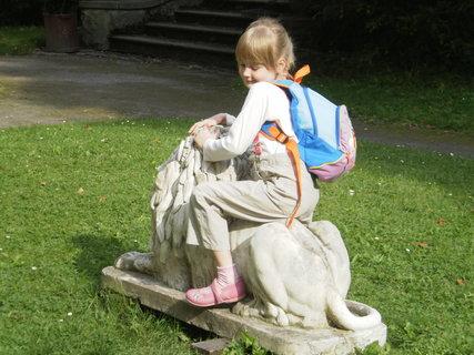 FOTKA - zahrada bruntálského zámku