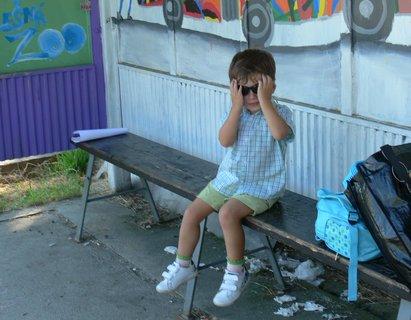 FOTKA - Kde je ten autobus...:(
