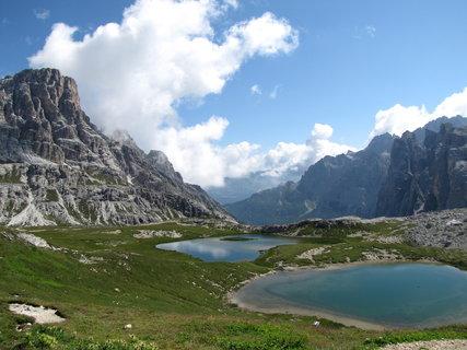 FOTKA - Záběr s horskými jezery