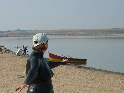 FOTKA - Rumunsko 2011 - Eforie ..slané jezero s bahenními lázněmi 4