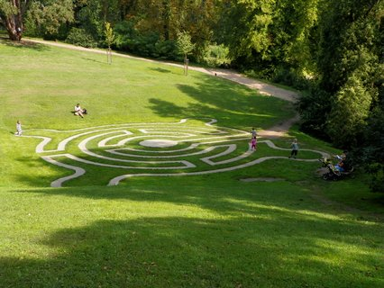 FOTKA - Další labyrint na zámku Loučeň