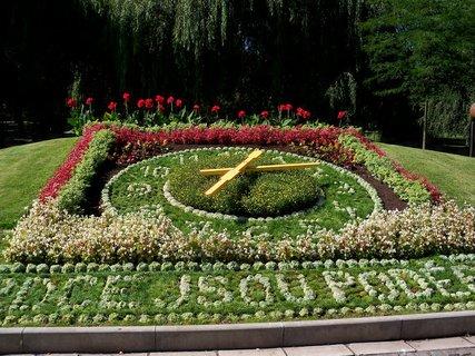 FOTKA - Květinové hodiny