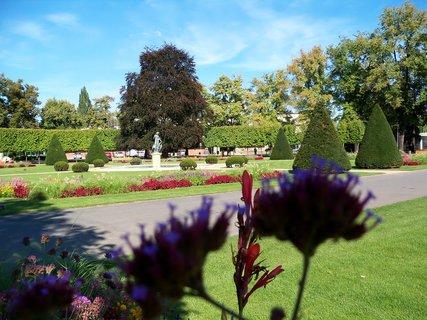 FOTKA - Radost se procházet tak krásným a upraveným parkem