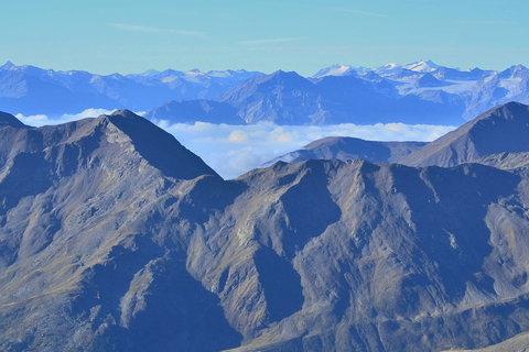 FOTKA - Pohled z Grawandu /3200M/ k Engadinu