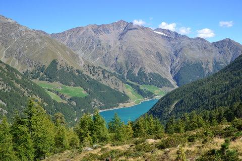 FOTKA - Pohled do údolí Schnalstal