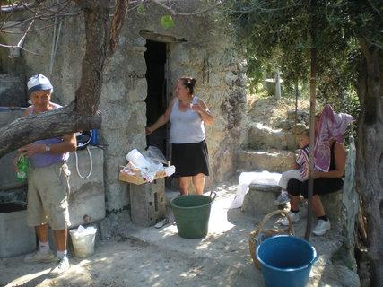 FOTKA - chvilka odpočinku ve stínu olivovníku