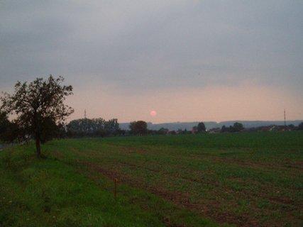 FOTKA - západ slunce  21.9.11