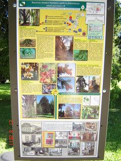 FOTKA - Hamzův park a arboretum Luže - Košumberk.,