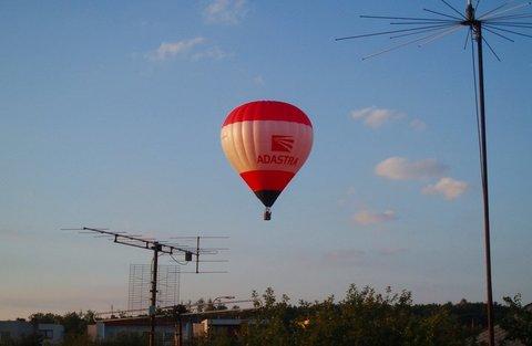 FOTKA - balonem nad městem