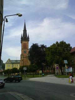 FOTKA - původní gotický kostel pocházel ze 14. století