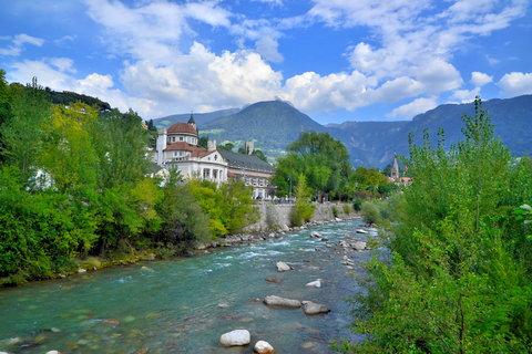 FOTKA - Řeka Adige v Meranu
