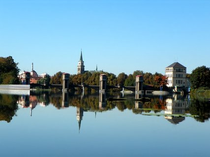 FOTKA - Nymburk přes řeku
