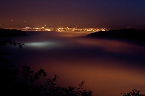 FOTKA - Mlha v Ústí n.L.