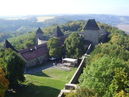 FOTKA - hrad Helfštýn s údajně nejdelšími hradebními zdmi na území ČR