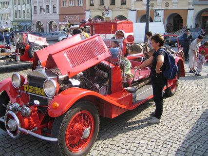 FOTKA - hasičské auto