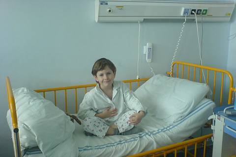 FOTKA - Domka v nemocnici