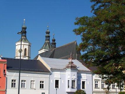 FOTKA - Kosteln� v�e v Uni�ov�