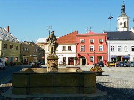 FOTKA - Kašna na Masarykově náměstí