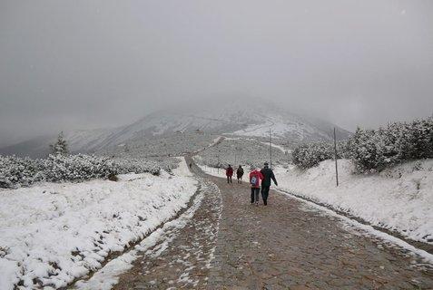 FOTKA - Krkonoše - na Sněžku v každém počasí